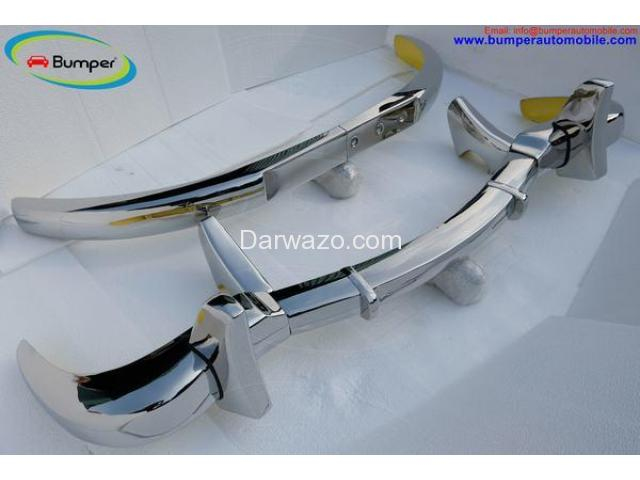 Car Parts  Mercedes Benz 300SL gullwing coupe (1954-1957) bumper by stainless steel - 2
