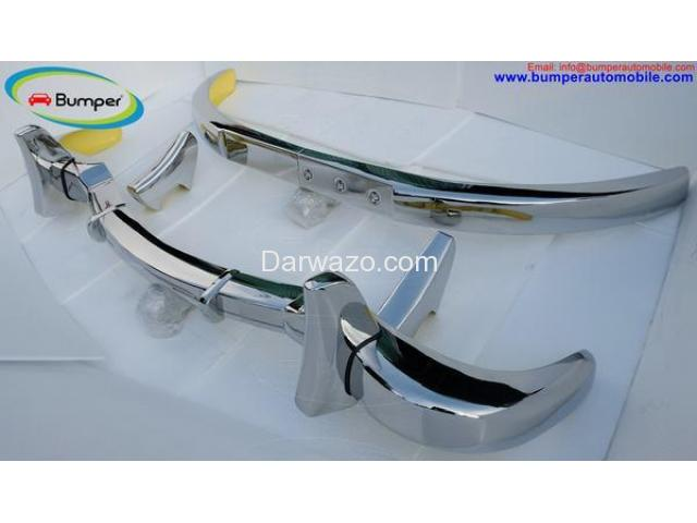 Car Parts  Mercedes Benz 300SL gullwing coupe (1954-1957) bumper by stainless steel - 3