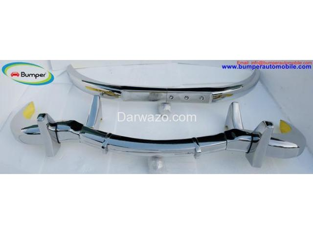 Car Parts  Mercedes Benz 300SL gullwing coupe (1954-1957) bumper by stainless steel - 4