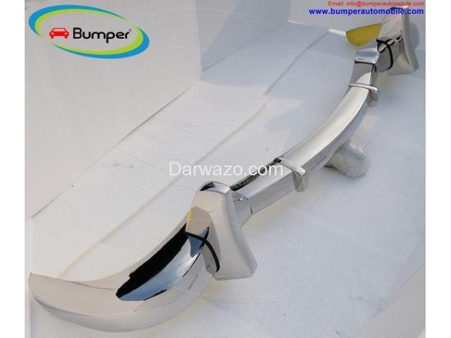 Car Parts  Mercedes Benz 300SL gullwing coupe (1954-1957) bumper by stainless steel - 5