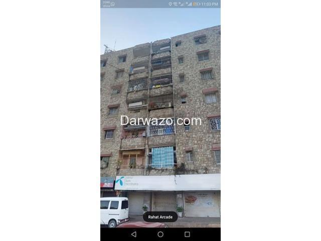 Flat for sale in gulistan-e-Jauhar - Rahat Arcade - 2BD - 1