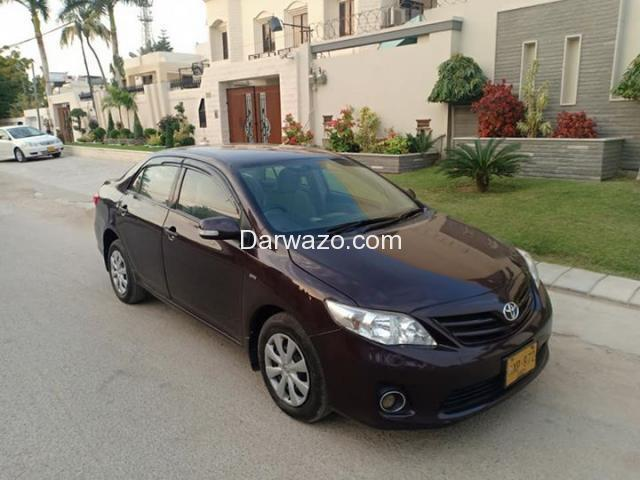 TOYOTA COROLLA GLI (ECOTEC) MODEL 2012, ORIGINAL RED VINE COLOR, FF CNG - 1