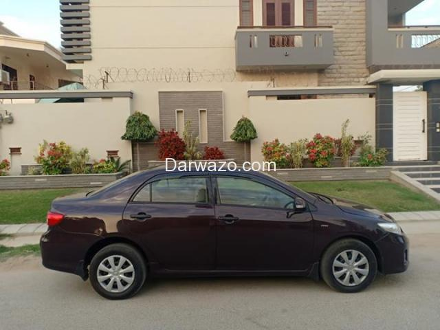TOYOTA COROLLA GLI (ECOTEC) MODEL 2012, ORIGINAL RED VINE COLOR, FF CNG - 3