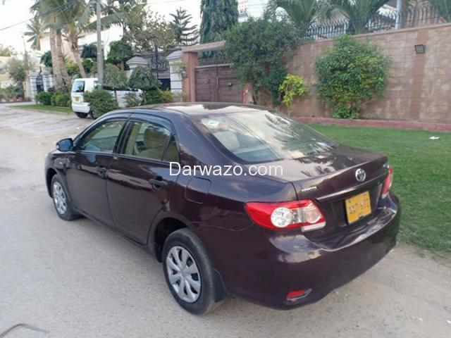 TOYOTA COROLLA GLI (ECOTEC) MODEL 2012, ORIGINAL RED VINE COLOR, FF CNG - 6