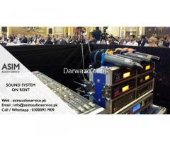 Sound System For Rental - Asim Audio Service