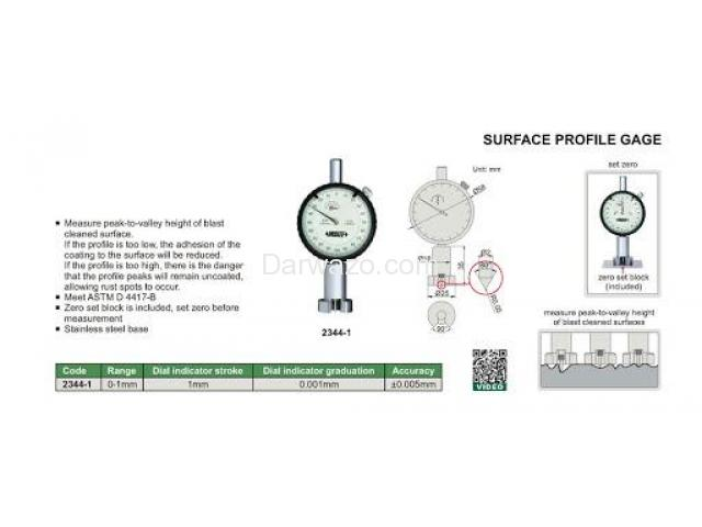 Surface Profile Gauge Surface Roughness Tester - 3