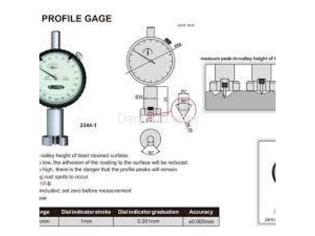 Surface Profile Gauge Surface Roughness Tester - 4
