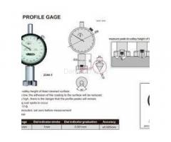 Surface Profile Gauge Surface Roughness Tester - Image 4