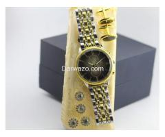 High Quality Watch with Cufflinks and Fancy Buttons for Sale - Image 4
