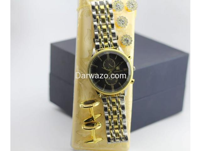 High Quality Watch with Cufflinks and Fancy Buttons for Sale - 5
