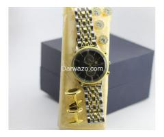 High Quality Watch with Cufflinks and Fancy Buttons for Sale - Image 5