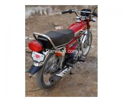 Motorcycle - Honda CG 125 for Sell - Karachi