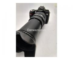 DSLR Nikon With 70-300mm Big lens Beat Photography and ultra HD Result