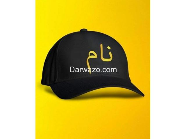 Best Quality Customize Name Cap for Sale - Order Now - 1