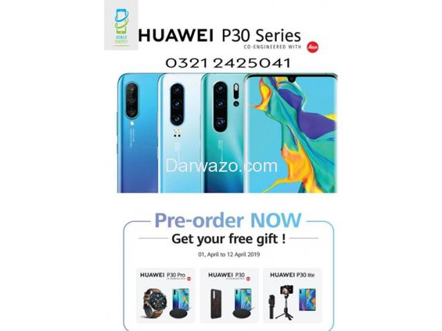 Huawei P30 for Sale - Pre order Now - All Pakistan delivery - Karachi - 1