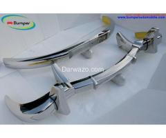 Mercedes 300SL gullwing coupe Year 1954-1957 Brand New Bumpers - Image 2
