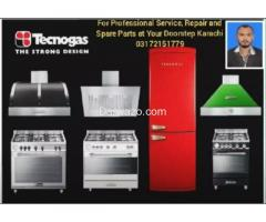 For Repair, Services and Parts of Tecnogas, Fotile,  Robam,  Nardi, Ardi, Indisit, Bompani