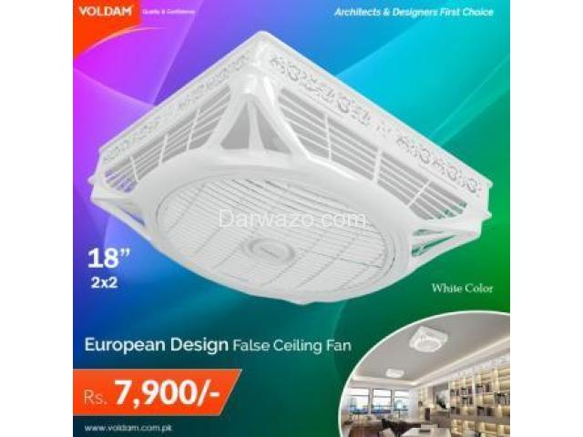 18 Hi-Speed Decorative False Ceiling Fan - 2/3