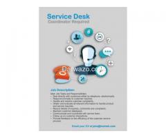 Service Desk Coordinator