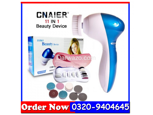 11 In 1 - Beauty Device Multifunction Face Massager In All Pakistan - 1