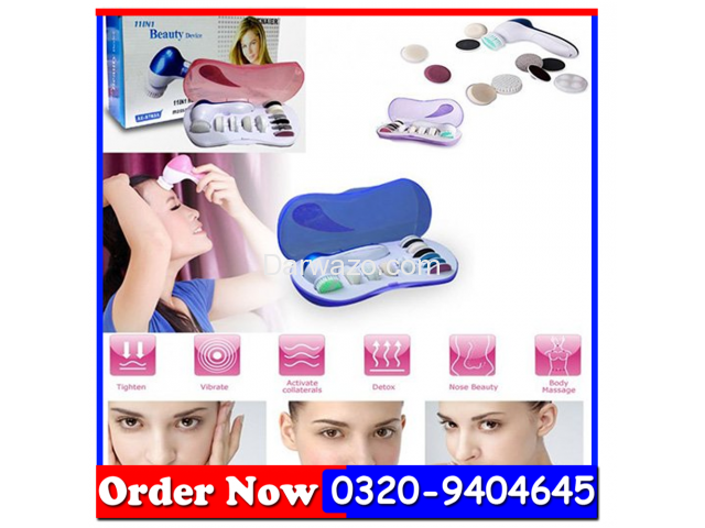 11 In 1 - Beauty Device Multifunction Face Massager In All Pakistan - 3