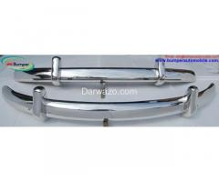 Euro bumper stainless steel , VW Beetle 1955-1972