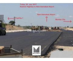 10 Marla Plot in Block D, TopCity-1 Investor Price