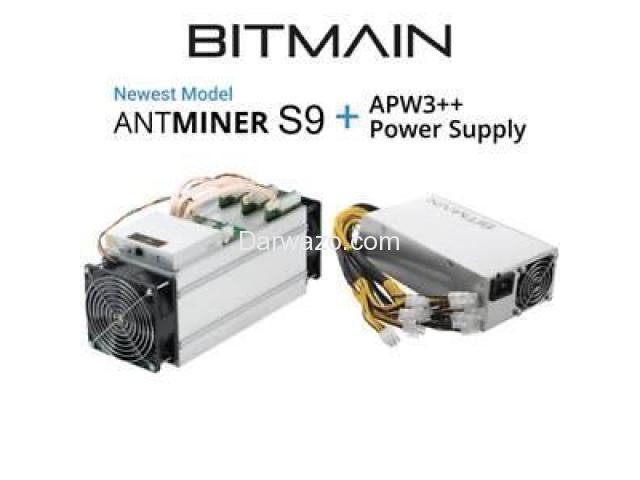 Selling Bitmain Antminer S9 14th with PSU/ Chat +17622334358 - 2