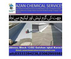 roof waterproofing roof heat proofing water tank leakage services