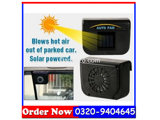 AUTO COOL AS SEEN ON TV SOLAR POWERED VENT FAN AUTOCOOL - 2