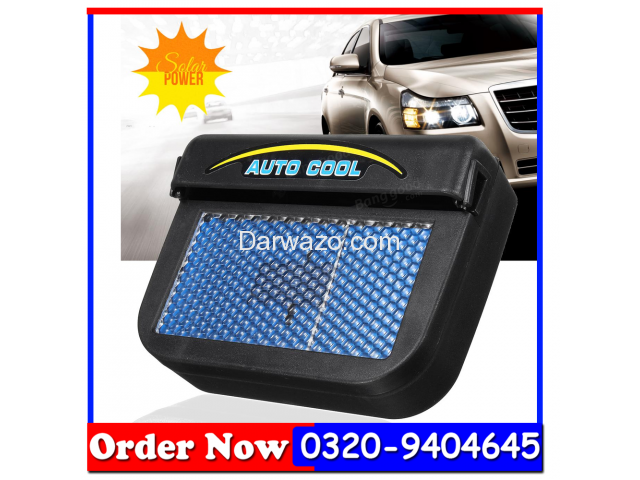 AUTO COOL AS SEEN ON TV SOLAR POWERED VENT FAN AUTOCOOL - 3