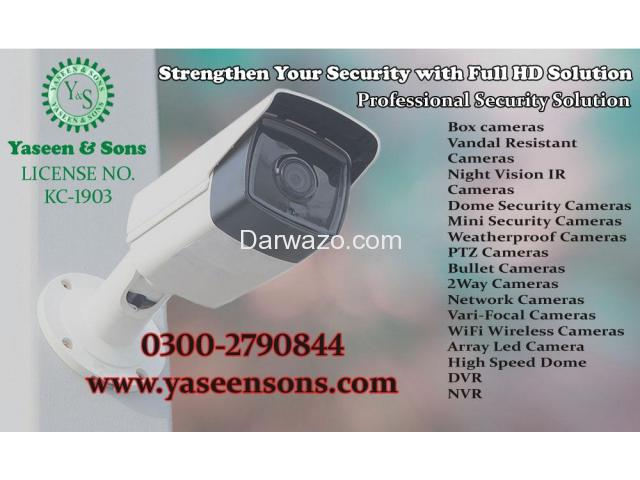 CCTV Systems in Karachi Pakistan - 1