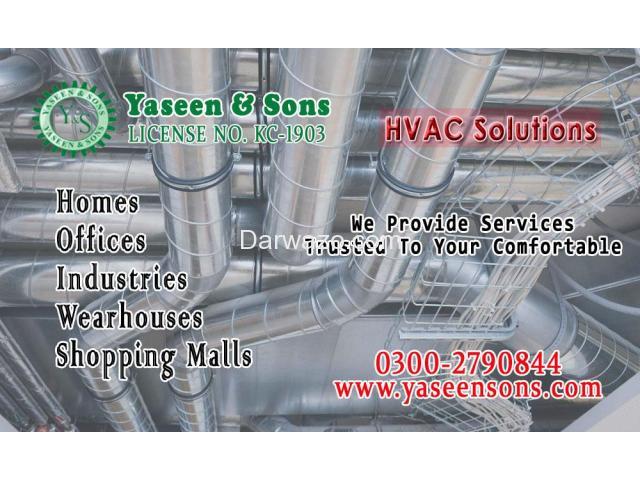 HVAC solutions in Karachi Pakistan - 1
