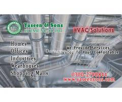 HVAC solutions in Karachi Pakistan