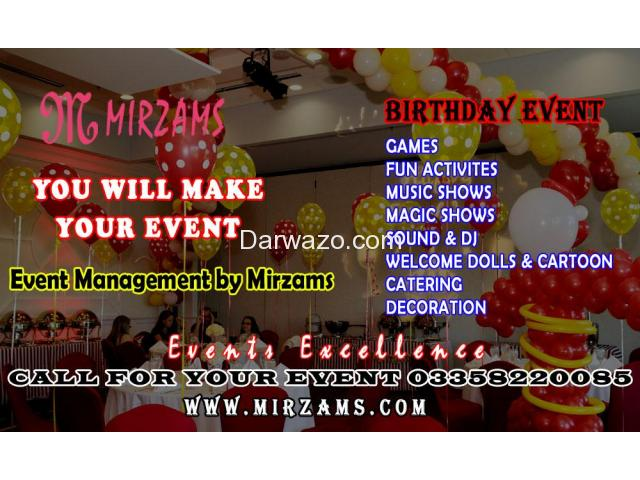 Birthday Events Planners in Karachi Pakistan - 1