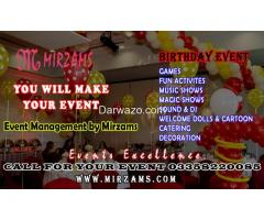 Birthday Events Planners in Karachi Pakistan