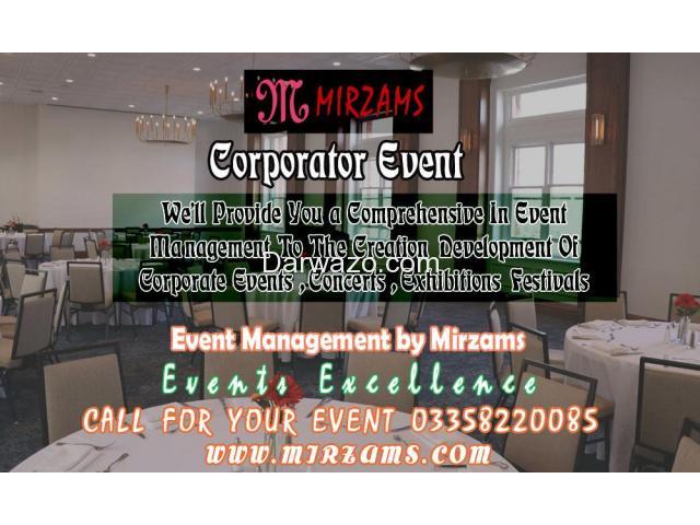 Corporate Events management in Karachi Pakistan - 1