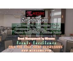 Corporate Events management in Karachi Pakistan