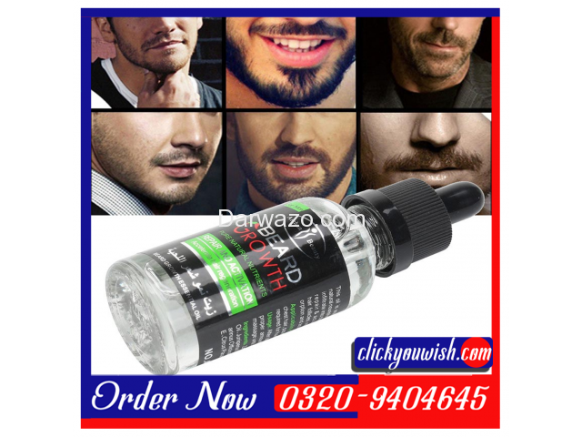 Hair & Beard Growth Essential Oil in Pakistan  0320-9404645 - 3