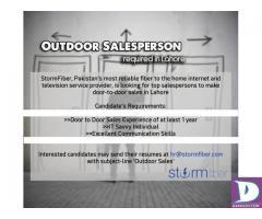 Outdoor Salesperson