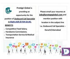 Outbound Call Specialist Required - Karachi