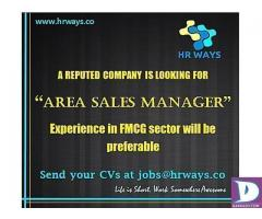 Area Sales Manager - Karachi & Quetta