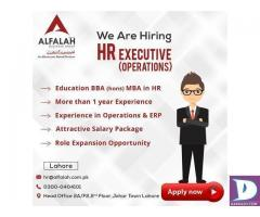 HR Executive Required