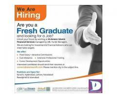 Fresh Graduates - UBL Funds - Karachi / Hyderabad /Lahore/Islamabad/Faisalabad