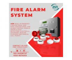 ASN System | Fire Alarm System | Fire Alarm in Karachi