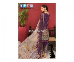 Noor Shanaya Linen Dress In Pakistan - Image 2