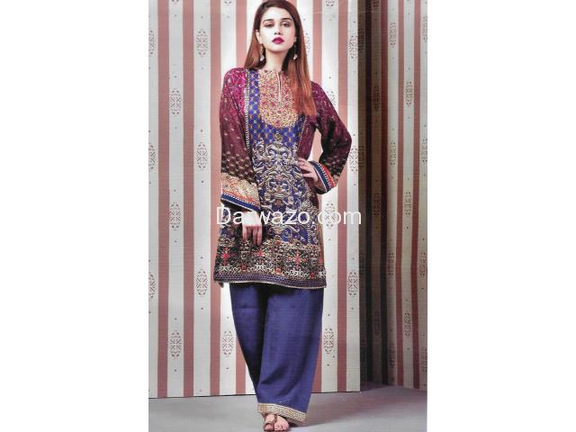 Kayseria Linen Dress In Pakistan - 1