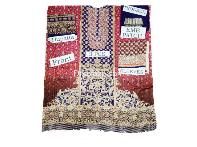 Kayseria Linen Dress In Pakistan - 3