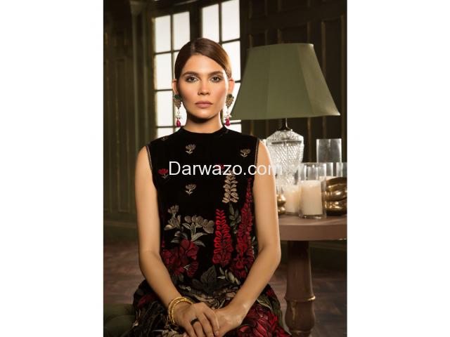 Petal Perfect Linen Dress In Pakistan - 1