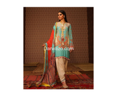 New Sana Safinaz Linen Dress In Lahore